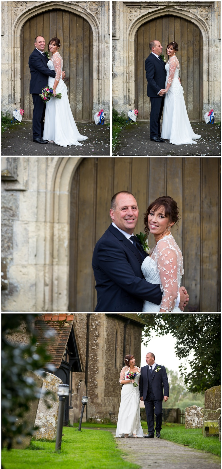 wedding aldington church
