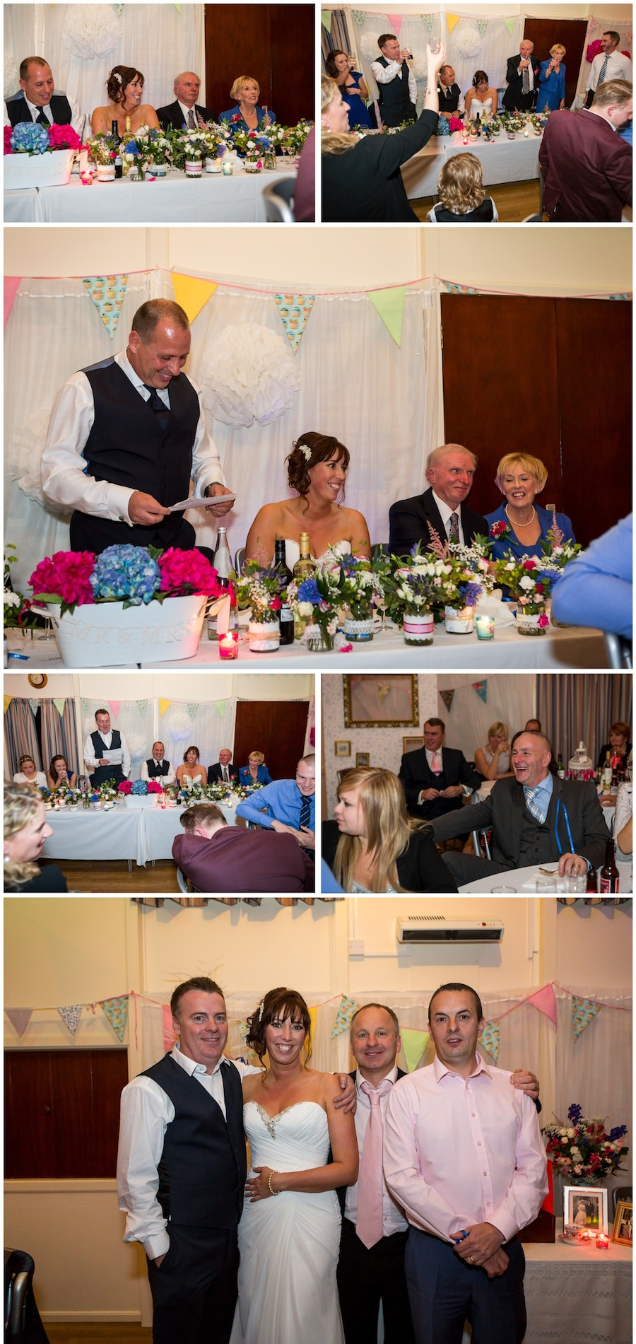 wedding lympne village hall