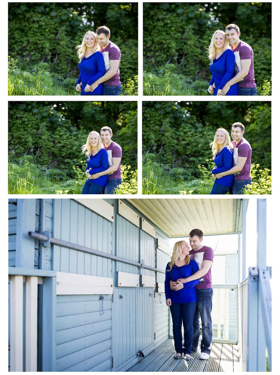 pre-wedding shoot whitstable