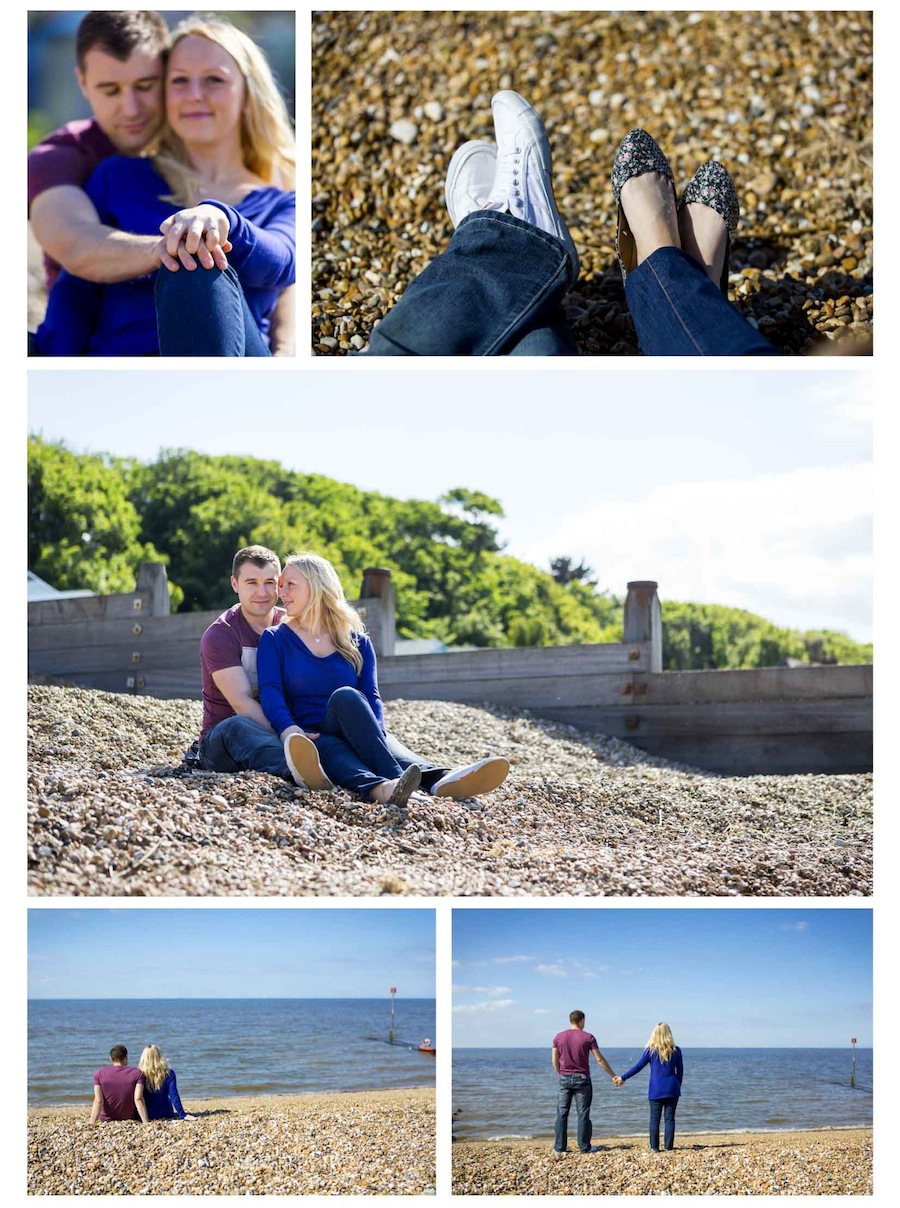 whitstable engagement photography