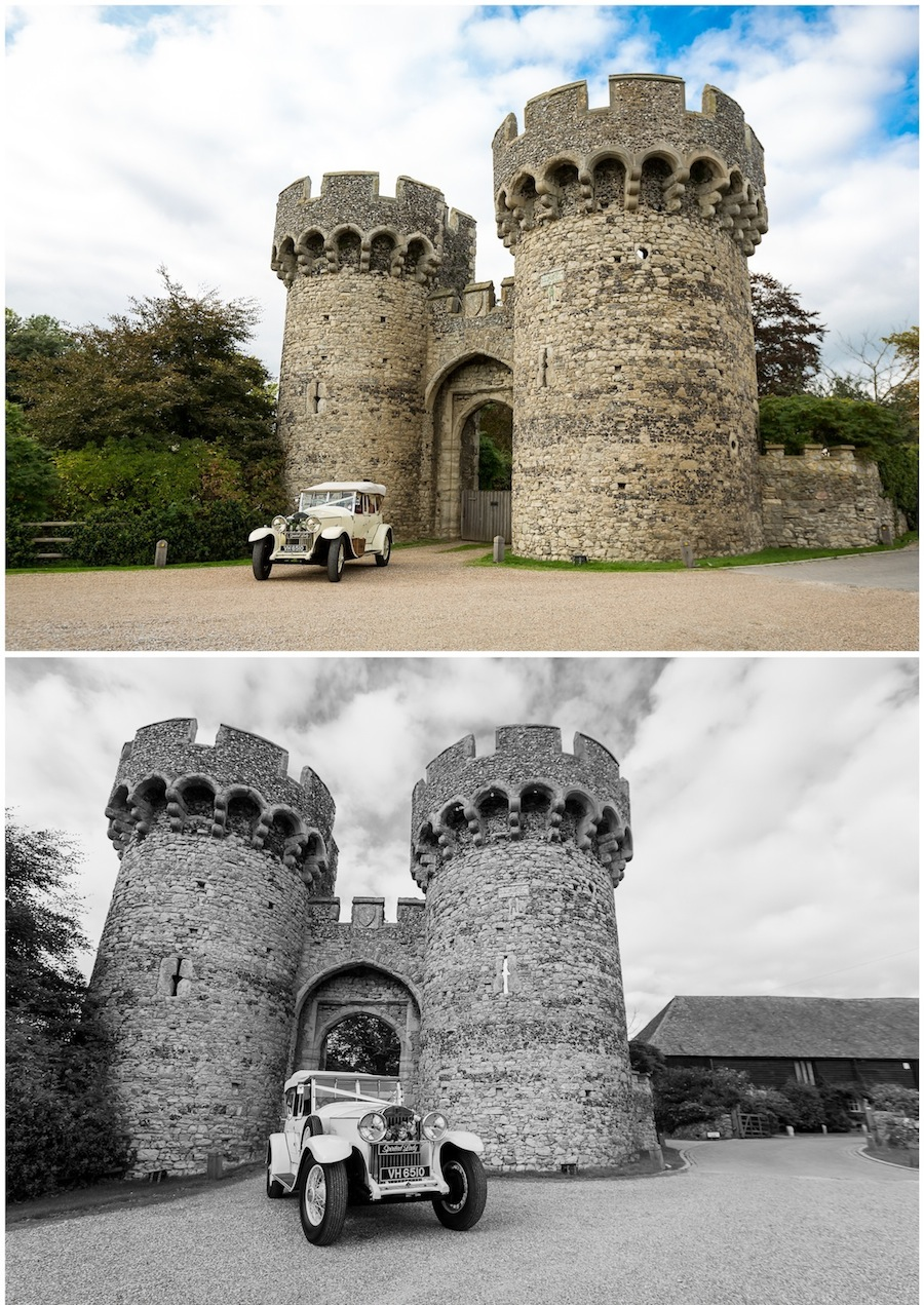 wedding cooling castle