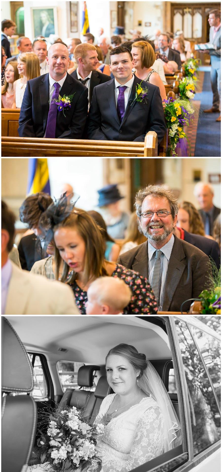 wedding woodensborough church