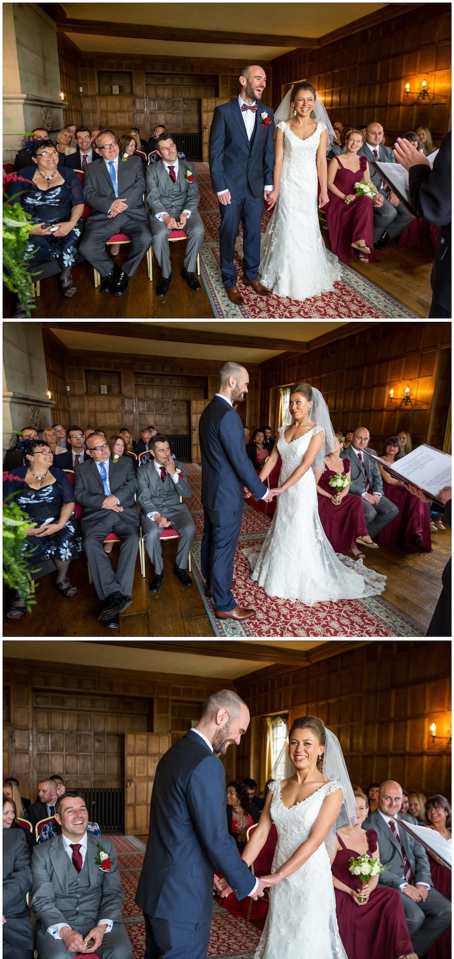 wedding lympne castle