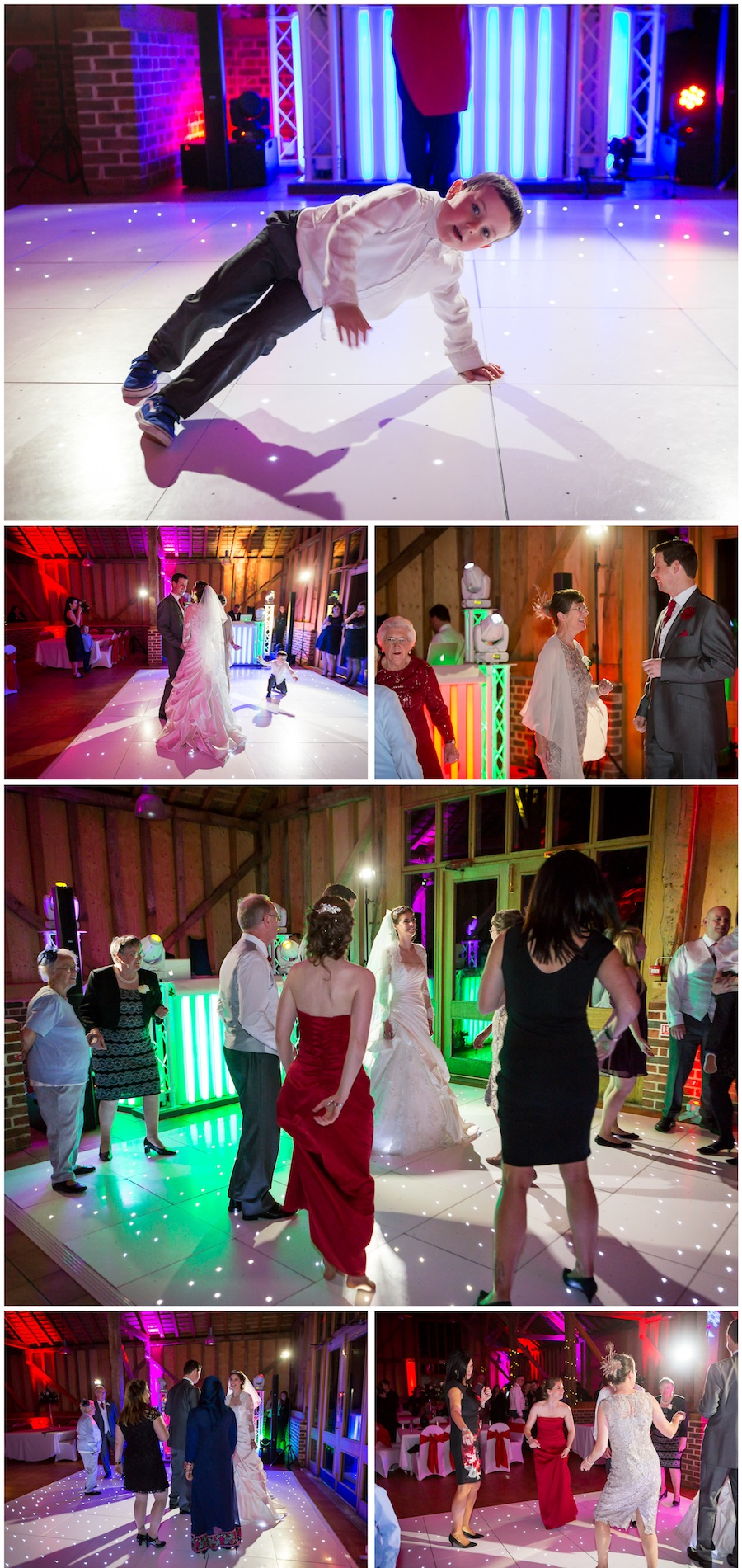 The Priory, Aylesford wedding