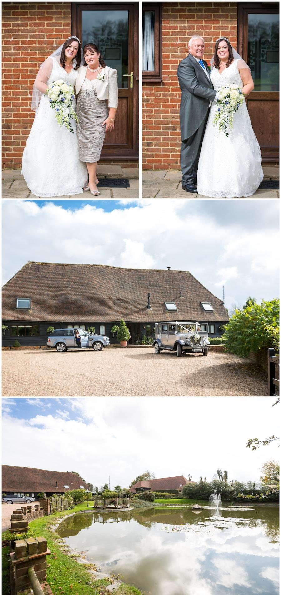 wedding Old Kent Barn
