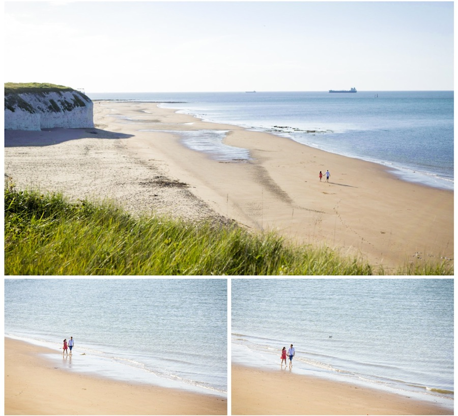 engagement shoot broadstairs beach
