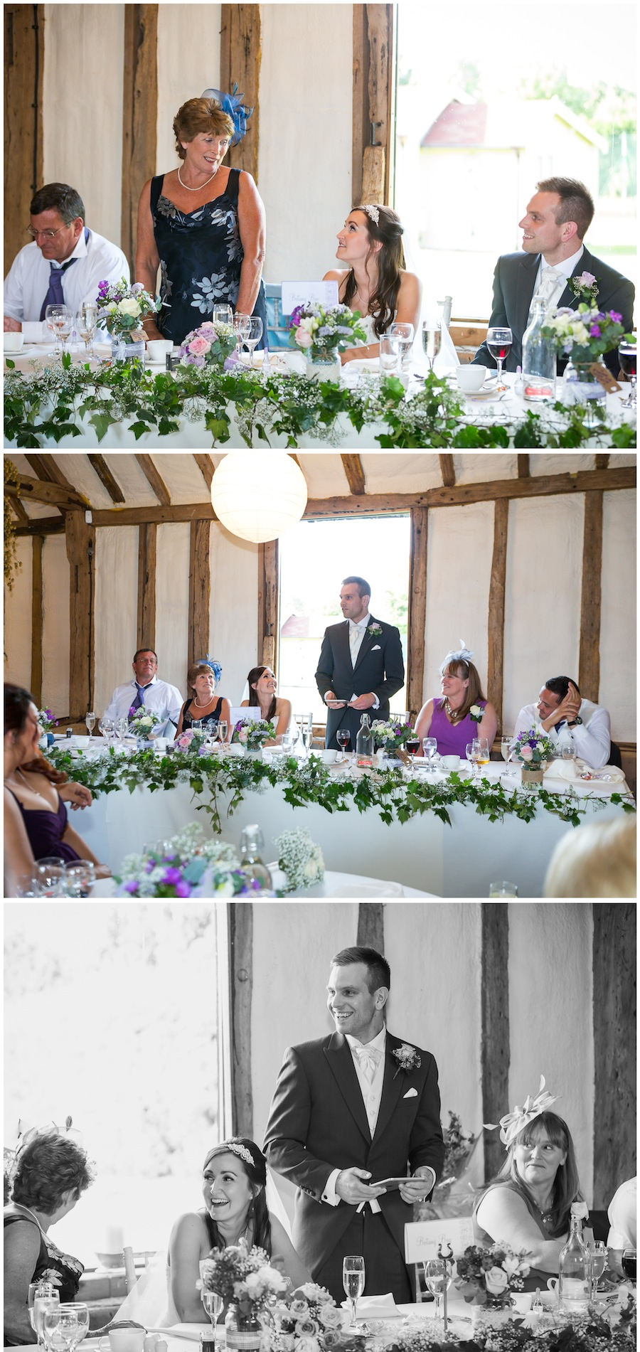 winters barn wedding