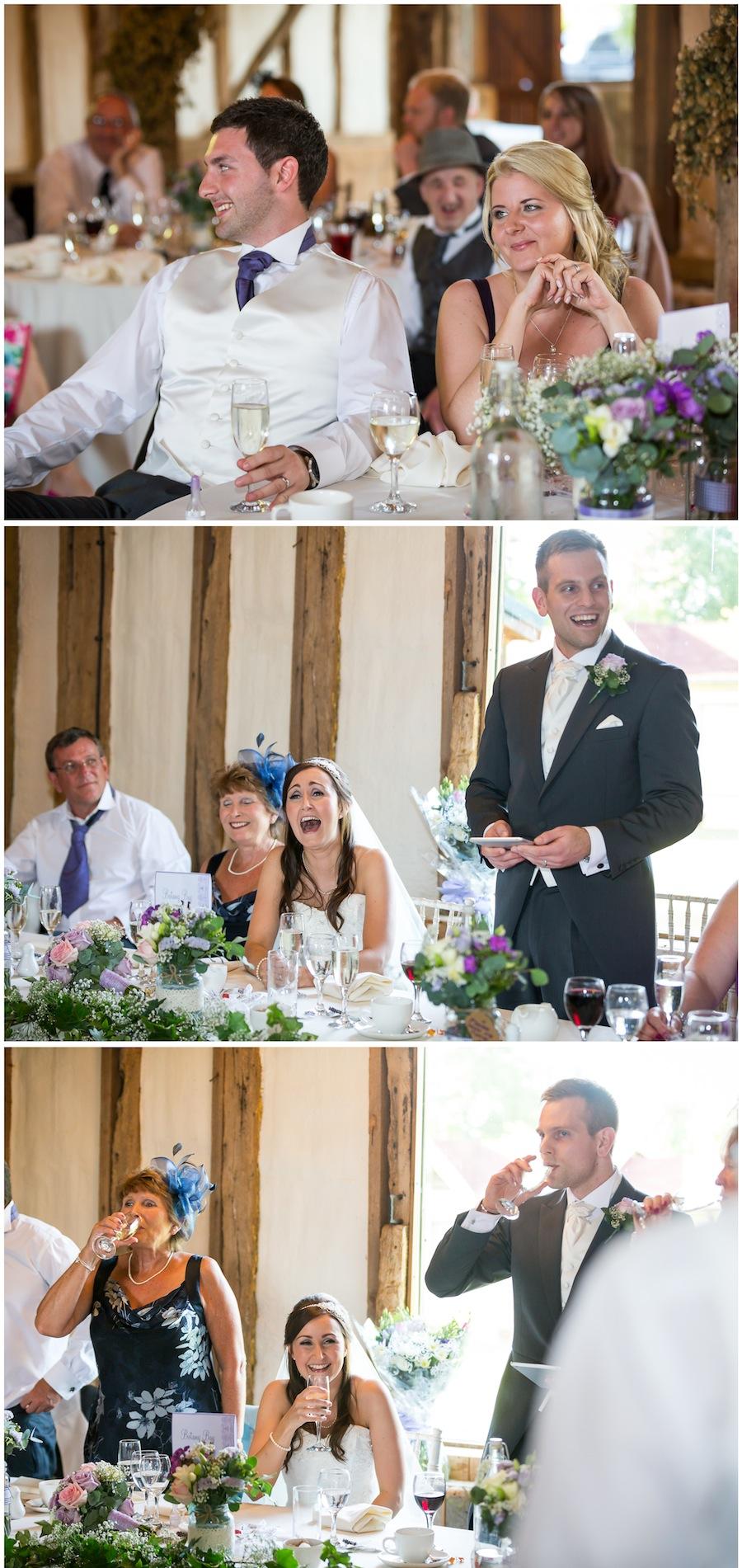 winters barn wedding
