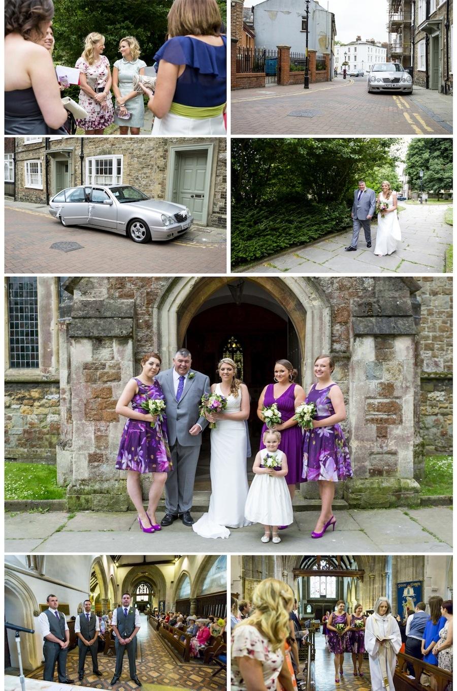 wedding st eanswythes folkestone