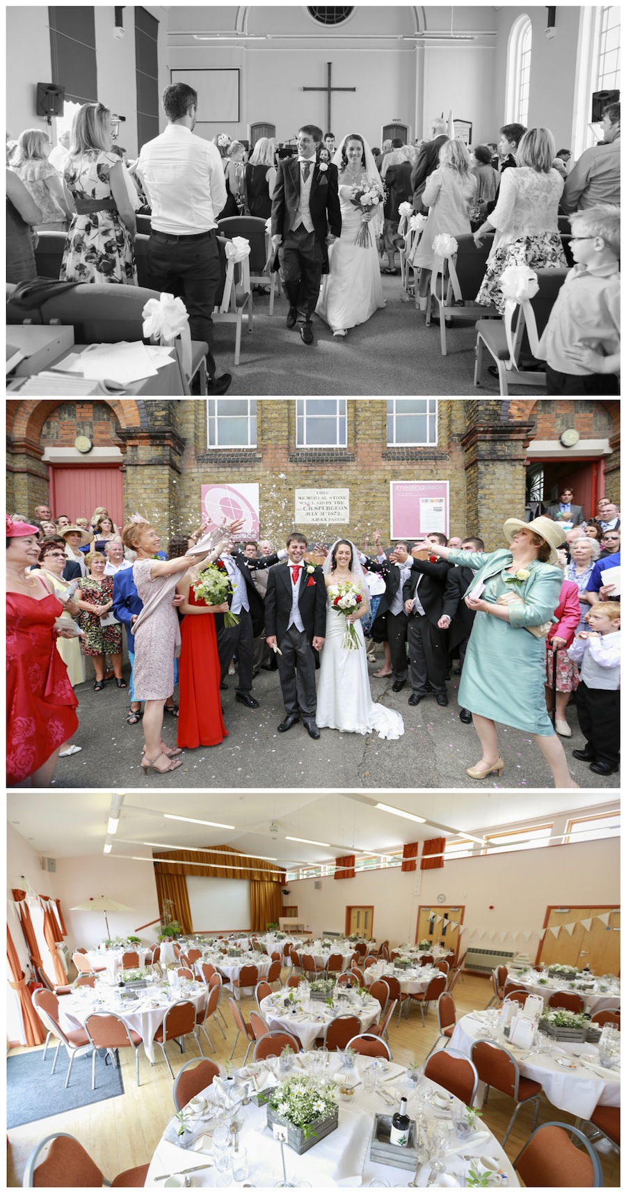 wedding faversham baptist church