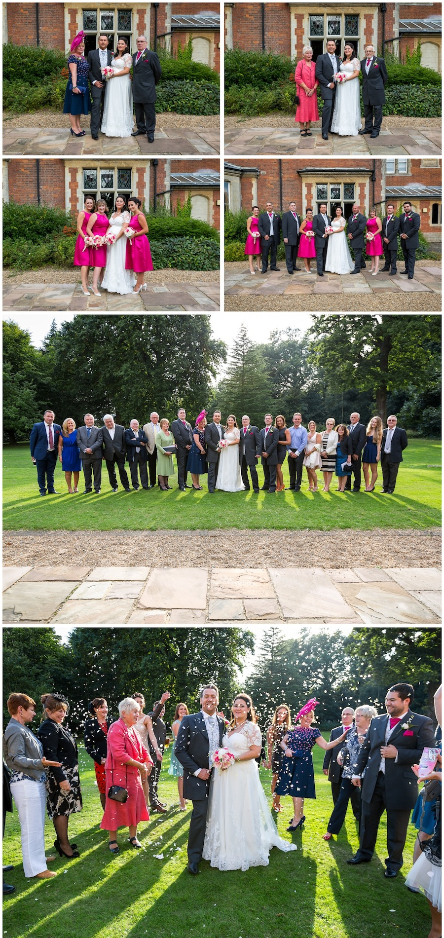 wedding oakwood house maidstone