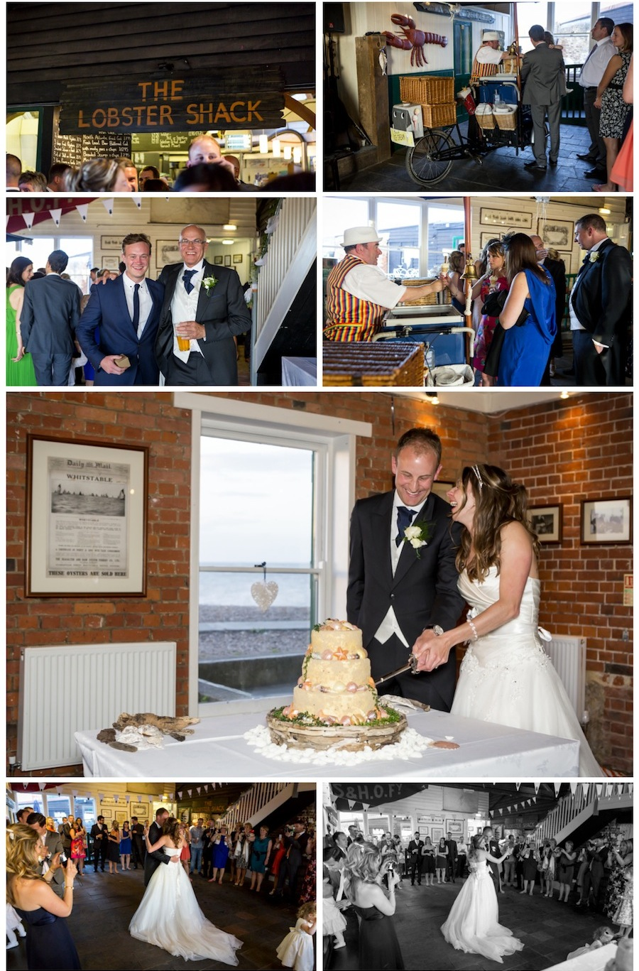 wedding east quay whitstable