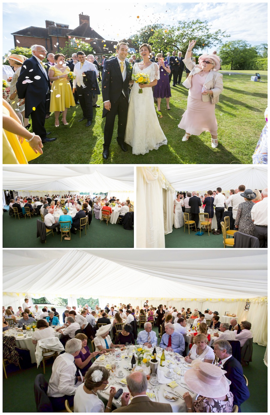 Wedding St Augustines Priory Bilsington