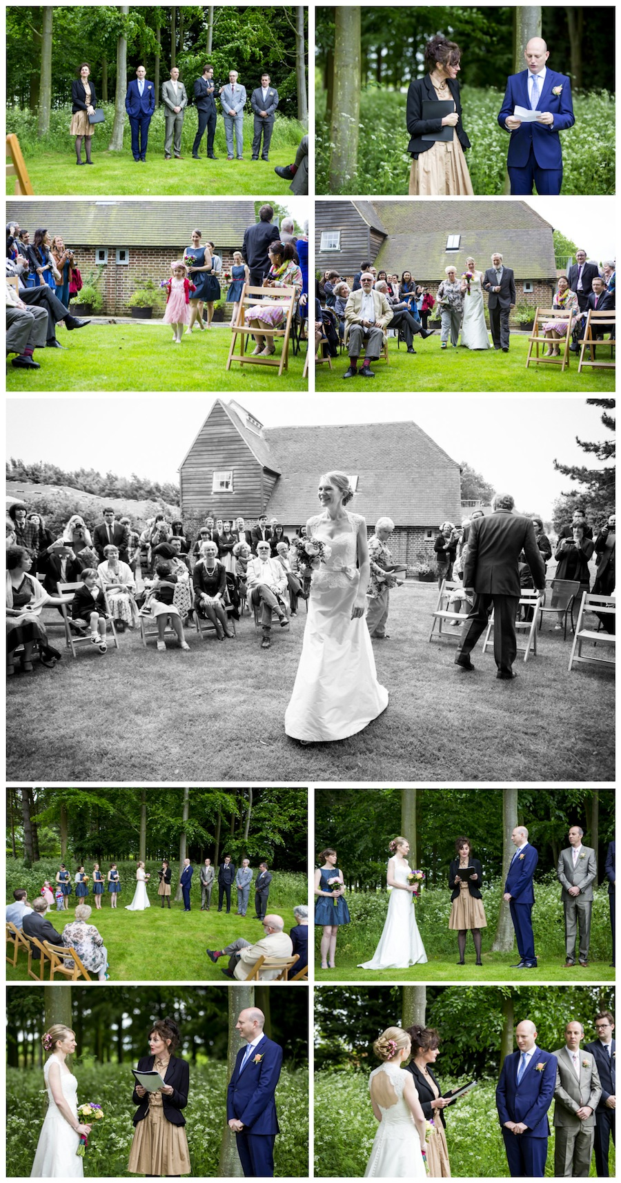 wedding Great Higham Farm
