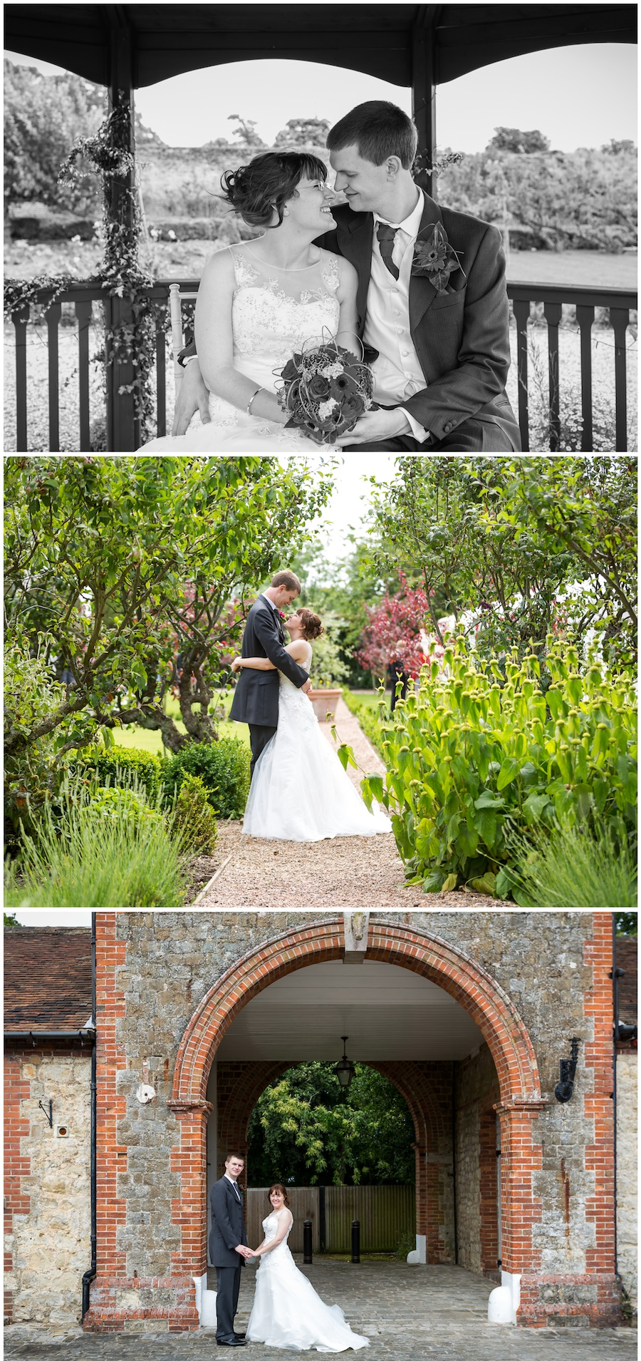 Secret Garden Ashford wedding photography