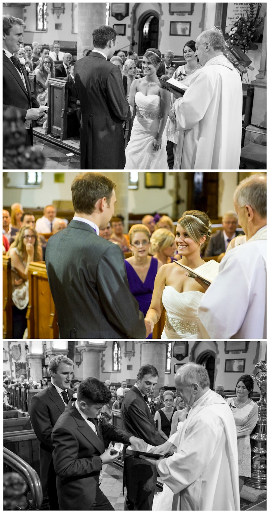 wedding st peter's church broadstairs