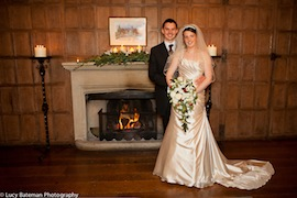 wedding lympne castle